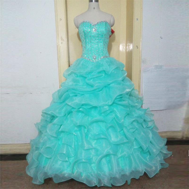 Mint Green Lavender Pink Ball Gown Quinceanera Dresses,New ...
